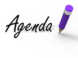 28740831-agenda-with-pencil-meaning-written-agendas-schedules-or-outlines