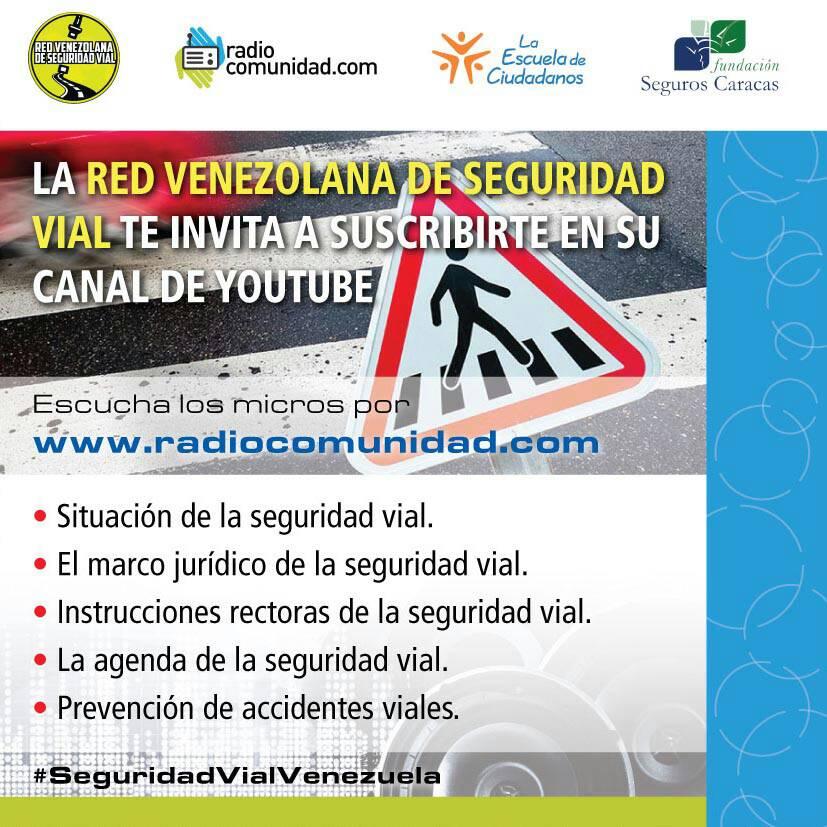 Semana de seguridad vial en Radiocomunidad.com